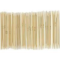 """SODIAL(R) 11 Saetze 4.9 """"Bamboo Strickhandschuhe Tricknadeln 2,0 - 5,0 mm US 0-8"""