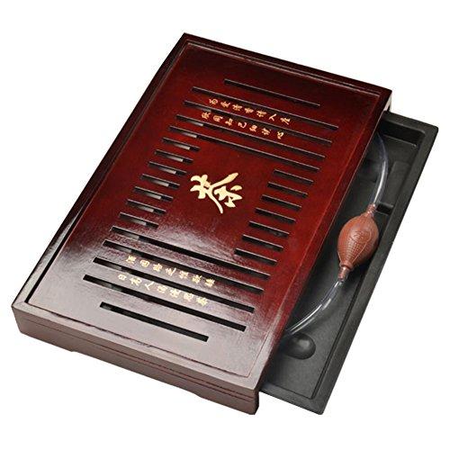 Massivholz Tee Tablett Tee-Set chinesischen Kung Fu Tee-Set # 09