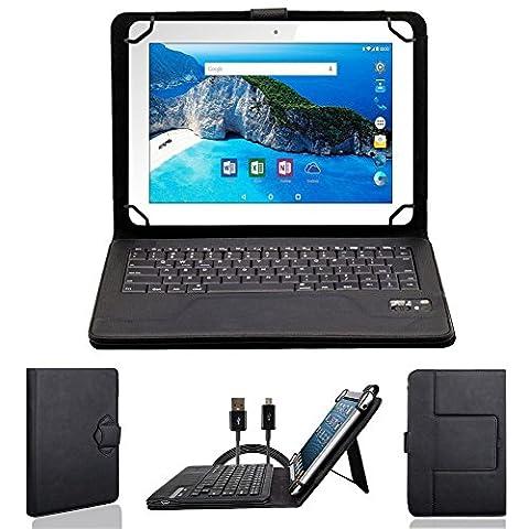 NAUC Wireless Bluetooth V 3.0 Keyboard Tastatur kabellos Ultra für