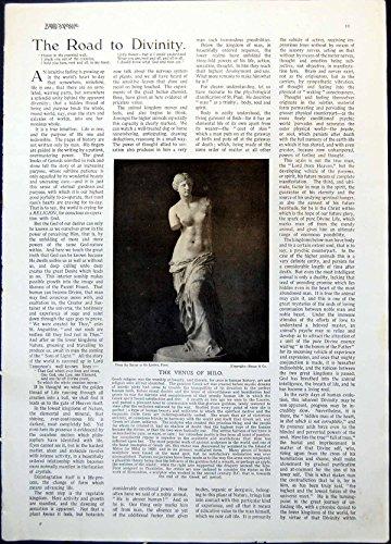 Stampi la Doppia Moglie 1922 011G370 di Egitto Antico del Funzionario Pubblico della Statua della Venere di Milo