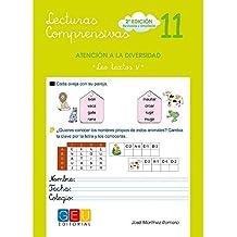 Lecturas comprensivas 11 / Editorial GEU / 3º Primaria / Mejora la comprensión lectora / Recomendado como apoyo / Actividades sencillas
