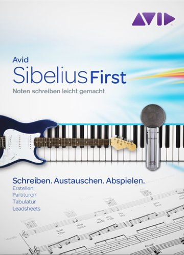 Avid Sibelius 6 First