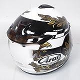Casco Integrale Moto Arai Chaser-v dimensioni l-60cm colori bianco, nero e oro nove