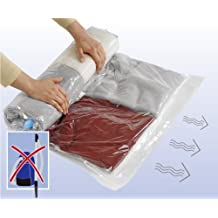 Wenko 3792770100 Komprimierungssystem Roll M - platzsparend, Kunststoff - Polyethylen, Transparent