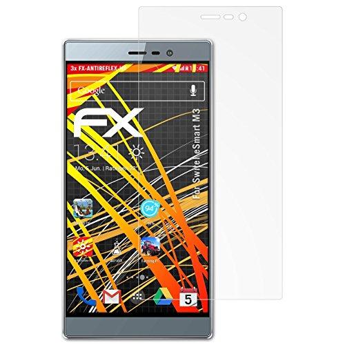 atFolix Schutzfolie kompatibel mit Switel eSmart M3 Bildschirmschutzfolie, HD-Entspiegelung FX Folie (3X)
