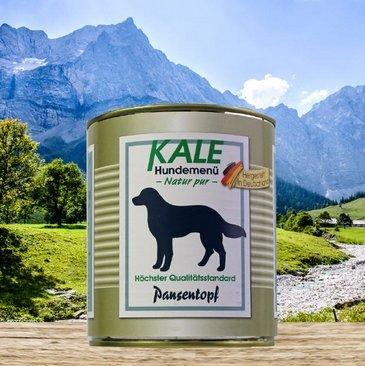 KALE Hundefutter Nassfutter Pansentopf (6 x 800g)
