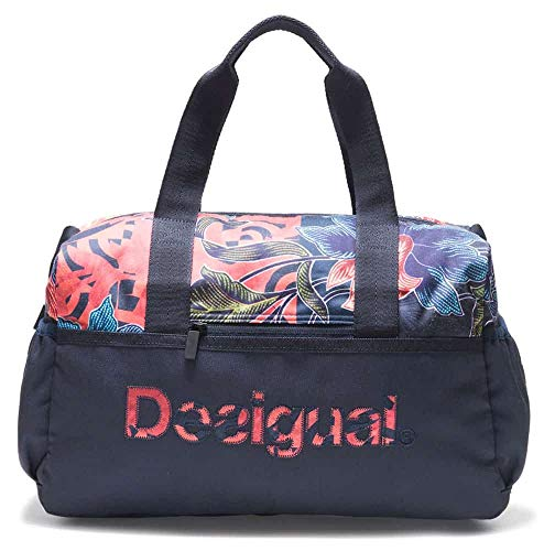 Desigual Geopatch Gym Bag Peacoat