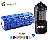 Urbancart Foam Roller Fitness/Yoga/Gym/Pilates/Balance Exercise Equipment for Stretching, Massage & Free Body Workout