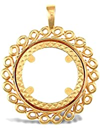Jewelco London Oro Amarillo 9k Monedero colgante