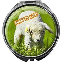 Pillendose/rund/Modell Leony/Veggies/BORN TO LIVE preisvergleich bei billige-tabletten.eu