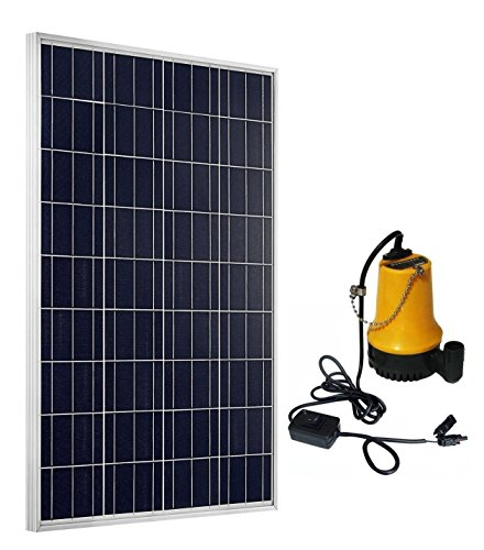 Package Included:  1pc 100W solar panel with 90CM cables 1pc solar water pump  1pc 15A solar controller Application Car washing Aquarium Yard & garden ponds Fountain system Irrigation Oxygenate for pond Watering Emergency water supply situation  ...