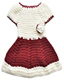 #9: Baby Sweater | winter wear | for Baby Girl woolen skirt or frock | Baby set | 0 to 6 months