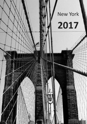 Kalender 2017 - New York Brooklyn Bridge: DIN A5 - 1 Woche auf 2 Seiten - Wochenkalender