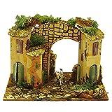 ROSSI ROSA Casette Borgo c/Arco cm.20x14x15-222B