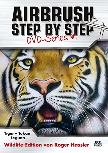 Airbrush Step by Step DVD-Series #1: Wildlife-Edition - Airbrush Dvd