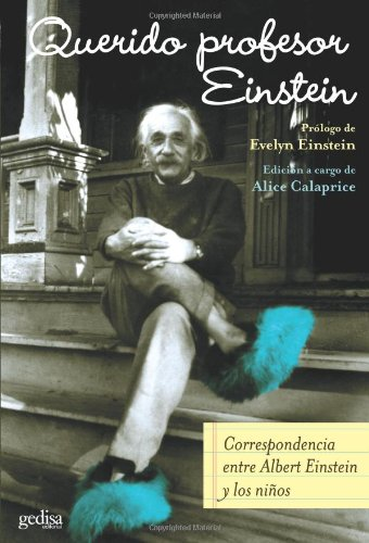 Portada del libro Querido Profesor Einstein