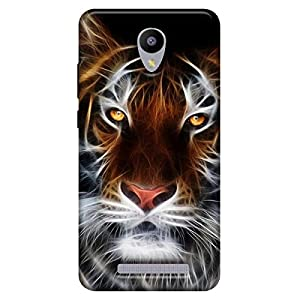 Coolpad Cool 1 Printed Back Cover with Tempered Glass UV (Soft Back) By TECHMOBILE