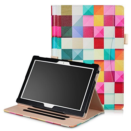 ProElite Smart handstrap Case cover for Lenovo Tab 4 10 / Tab 4 10 Plus Tablet (Diamonds)