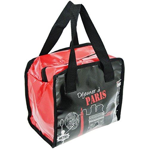 Promobo - Lunch Bag Sac Panier Repas Fraicheur Isotherme City Dejeuner à Paris