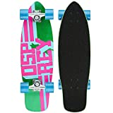 Best Cruising Skateboards - Osprey Text Single Kick Tail Complete Cruiser Skateboard Review