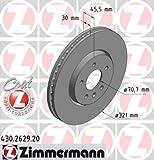 Bremsscheibe COAT Z - Zimmermann 430.2629.20