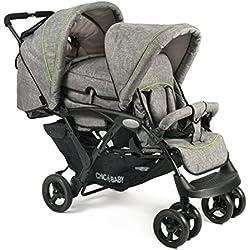 CHIC 4 BABY - Carrito para niños 27432, gris