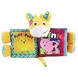 TOYMYTOY Baby Spielbuch Stoffbuch Kleinkindspielzeug Pädagogisches Spielzeug