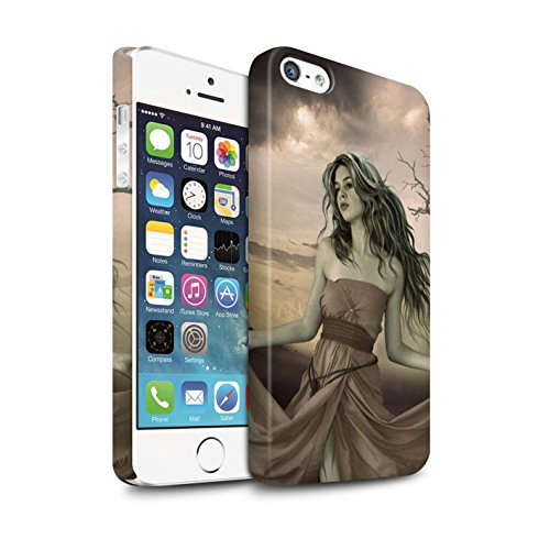 Officiel Elena Dudina Coque / Clipser Matte Etui pour Apple iPhone SE / Notre Dame Design / Caractère Conte Fées Collection Notre Dame