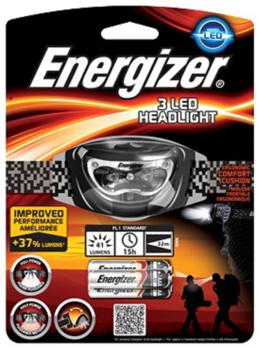 Energizer Headlight 3Led Linterna sin pilas