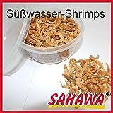 Sahawa Hausmarke Zierfischfutter 400 ml Dosen verschiedene Sorten, Daphnien, Rote Mückenlarven, Bachflohkrebse, Shrimps, getrocknete Fische, Mehlwürmer, Flockenfutter (Süßwasser-Shrimps)