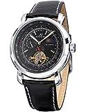 KS Luxury Tourbillion Moon Phase Automatic Mechanical Mens Leather Wrist Watch KS068