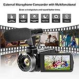 Camcorder Full HD 1080P Digital Camera WIFI IR Night Vision Function Vlogging Camera Video Camera