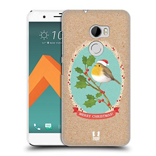 Head Case Designs Rotkelchen Weihnachtsklassiker 2 Ruckseite Hülle für HTC One X10