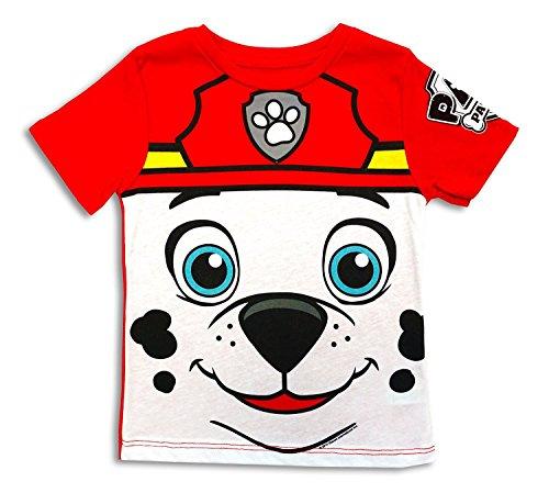 Paw Patrol I Am Marshall Kleinkinds Kostüm T-Shirt | 2T (Paw Patrol Marshall Kostüme Für Kleinkinder)