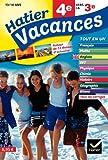 Hatier Vacances - Toutes les matières, de la 4e vers la 3e, 13/14 ans
