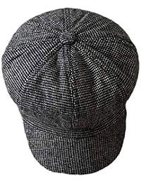 Chqin Caps Mantieni Caldo all Aperto Cappello Donne Moda Lana Cappelli  Ragazza Casuale Regolabile Fedora E e297dad70fb4