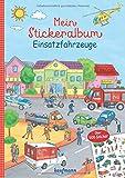 Mein Stickeralbum Einsatzfahrzeuge: Über 500 Sticker (Mein Stickerbuch)