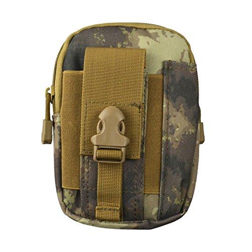 ZYT 5.5/6 pollici telefono cellulare impermeabile borsa pacchetto Sport Outdoor uomini Pocket in esecuzione gambe . orange ruins of green