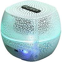 Inalámbrico Bluetooth led altavoz de sonido de color crack regalos creativos lámpara de noche 80 *