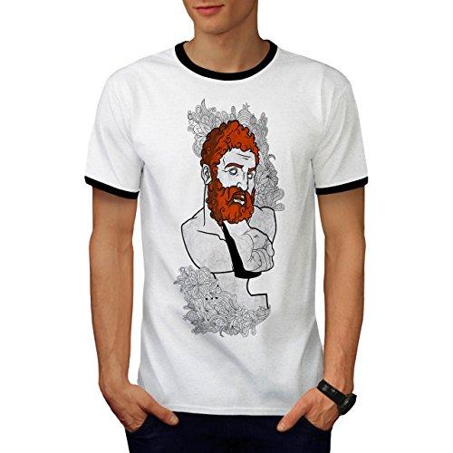 Mode Faust Schmerz Herren M Ringer T-shirt | Wellcoda (Griechische Männliche Kostüme)