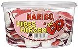 Geschenk von Herzen - Haribo Liebesherzen