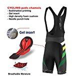FDX Mens Limited Edition Cycling Bib Shorts Gel Chamois Padded Tights shorts
