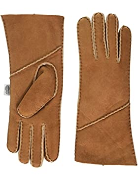 SNUGRUGS Vicky, Sheepskin Glove with Fold Back Cuff, Guantes para Mujer