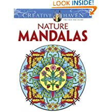 Nature Mandalas (Dover Design Coloring Books)