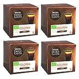 Nescafé Dolce Gusto Absolute Origin Colombia Sierra Nevada Lungo, Capsule da caffè, cialde da caffè, caffè tostato, bio, 48 Capsule