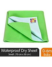 BeyBee Waterproof Baby Bed Protector Dry Sheet for New Born Babies