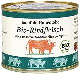 BIO Echt Hällisches Rindfleisch im eigenen Saft, 1-er Pack 200 g Dose