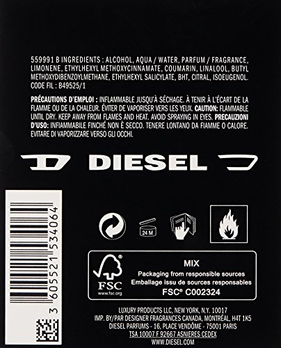 Diesel ONLY THE BRAVE Tattoo eau de toilette spray 50 ml