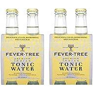 Fever-Tree Agua Premium Indian Tónica - Pack de 4 x 20 cl - Total: 800 ml