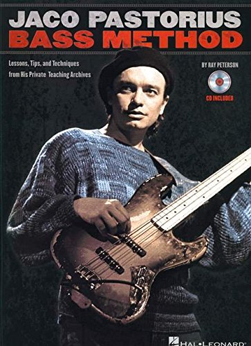 JACO PASTORIUS BASS METHOD LESSONS TIPS & TRICKS BOOK/CD WITH TAB por Various